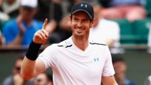ATP French Open, Semi Final: Murray v Wawrinka (11:45) 1