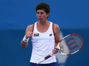 WTA Bucharest Open, Semi Final: Begu v Suarez Navarro (1pm) 1