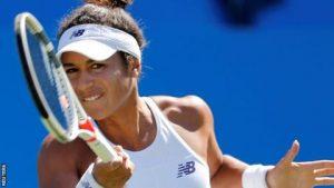 WTA Wimbledon: Zanevska v Watson (5pm) 1