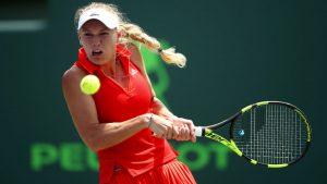 WTA Rogers Cup, Toronto, Semi Final: Wozniacki v Stephens (6pm) 1