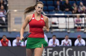 WTA Tashkent 2017: Sabalenka v Maria: 10:30am 1