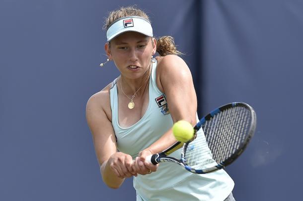WTA Wuhan Open: Vesnina v Mertens, 10am 1
