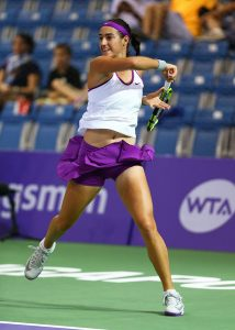 WTA Finals, Singapore, Round Robin: Halep v Garcia,12:30 1