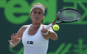 WTA Linz Open, Second round: Lepchenko v Larsson, 3pm 1
