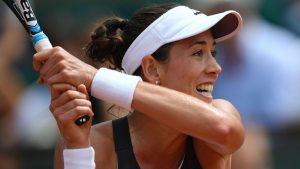 WTA Beijing: Muguruza v Strycova 1