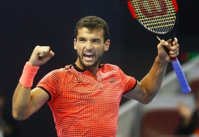 ATP World Tour Finals: Dimitrov v Goffin. 2pm 1