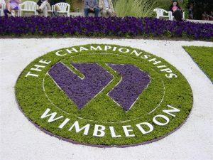 Wimb logo in flowers
