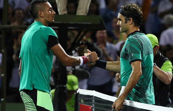 Kyrgios and Federer