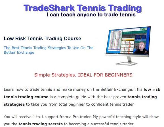 Tennis Trading Course